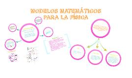 Modelos Matemáticos para la Física. Función Cuadrática