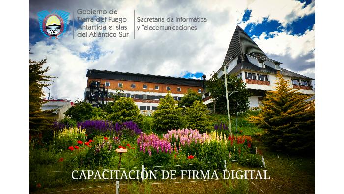 Capacitación Firma Digital - Secretaria General