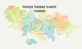 Teacher Training Blended Learning