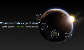 What constitutes a great class?