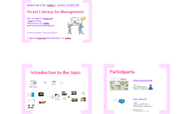 Visual Literacy for Management 2018