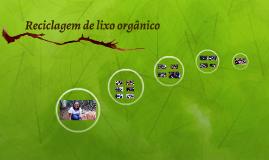 Reciclagem de lixo orgânico
