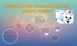 Copy of PROCESO DE PRODUCCION DE GRUPO BIMBO
