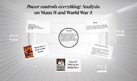 Power controls everything: Analysis on Maus II and World War
