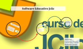 Sofware Educativo Jclic