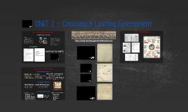 CIVICS (4-6): Creating A Lasting Government