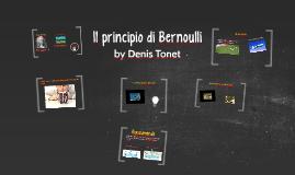 Copy of Il principio di Bernoulli