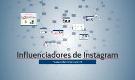 Influenciadores de Instagram