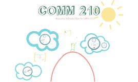 COMM 210