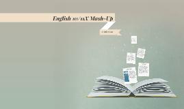 English 10/11X Creative Mash-up