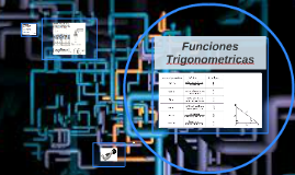 Fnciones Trigonometricas
