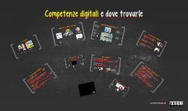 Competenze digitali e dove trovarle
