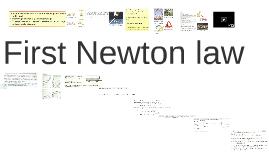 Pirmais Ņūtona likums