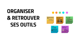 Organiser/retrouver ses outils