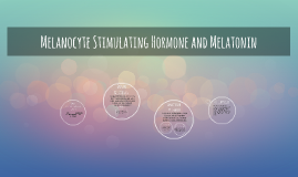 Melanocyte Stimulating Hormone and Melatonin