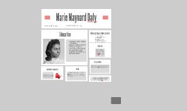 Copy of Marie Maynard Daly