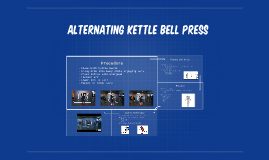 Alternating Ketlebell Press