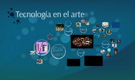 Tecnología en el arte