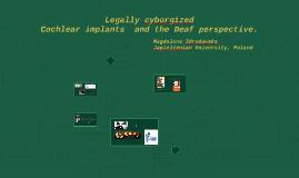 Legally cyborgized