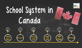 School System in Canada