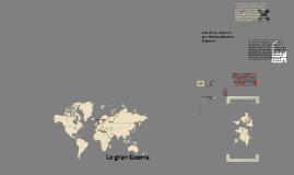 Copy of Primera Guerra Mundial - La Gran Guerra