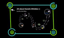 Natalie Whiddon :)
