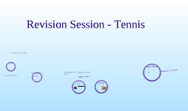Tennis Revision Session
