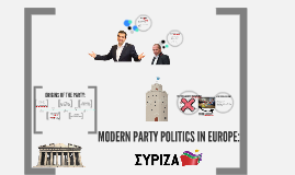 MODERN PARTY POLITICS IN EUROPE: