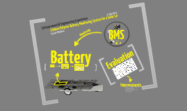 EEE Project: Battery and BMS