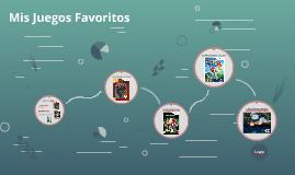 Mis Juegos Favoritos Sergio