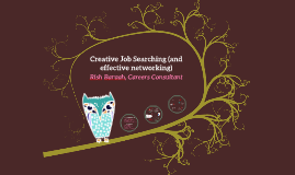 BA Textile Design Year 3: Creative Job Search