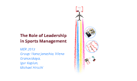 leadership in sports management