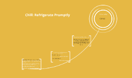 Chill: Refrigerate Promptly