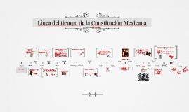 Línea del tiempo de la Constitución Mexicana