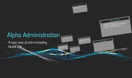 Alpha Administration