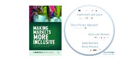 CBU Making Markets More Inclusive - Sept 29, 2015
