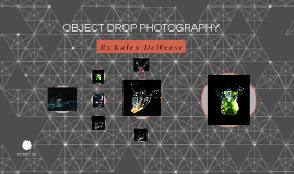 OBJECT DROP PHOTOGRAPHY