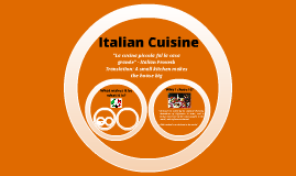 English - Italian Cuisine