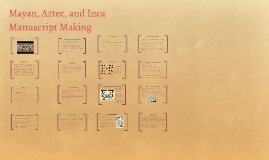 Copy of Mayan, Aztec, and Inca Manuscript Making