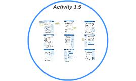 Activity 1.5