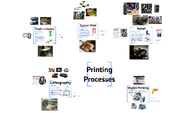 Printing Processes - Screencast