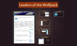 Leaders of the Wolf Pack