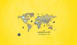 Sociale kaart voor PWJ
