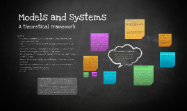 Models and Systems