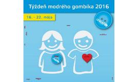 Týždeň modrého gombíka 2016