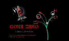Buyer Behaviour Coke Zero
