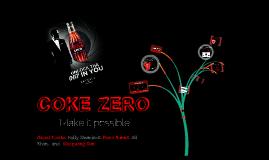 Buyer Behaviour Coke Zero