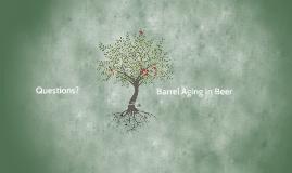 Oak Aging in Beer