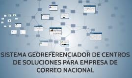 SISTEMA GEOREFERENCIADOR DE CENTROS DE SOLUCIONES PARA EMPRE