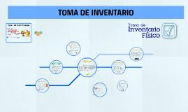 TOMA DE INVENTARIO FÍSICO